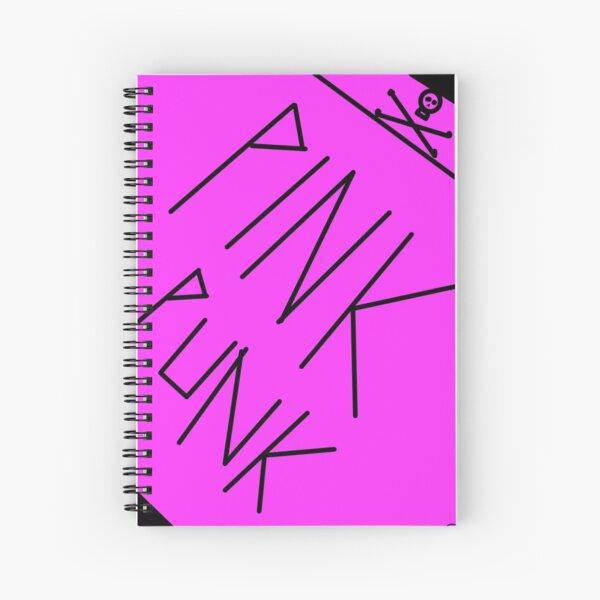 Pink Punk Spiral Notebook