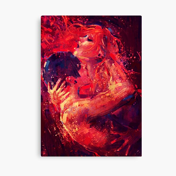 Twinflame Connection Canvas Print