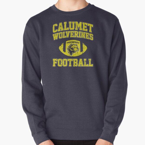Calumet Wolverines Football Pullover Sweatshirt