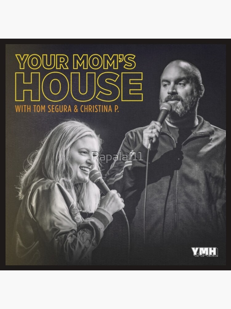 YOUR MOM'S HOUSE PODCAST - NEW YMH LOGO by Rapalaf11