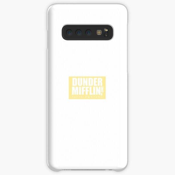 dunder mifflin pastel yellow logo Samsung Galaxy Snap Case