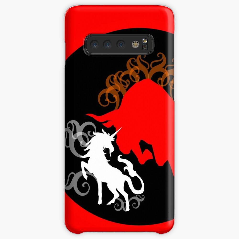 Unicorn vs the Red Bull Case & Skin for Samsung Galaxy