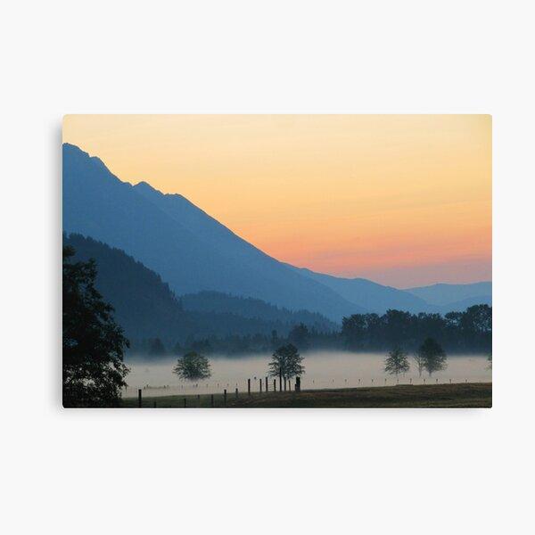 Soft Morning Canvas Print