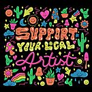 Support Your Local Artist by doodlebymeg