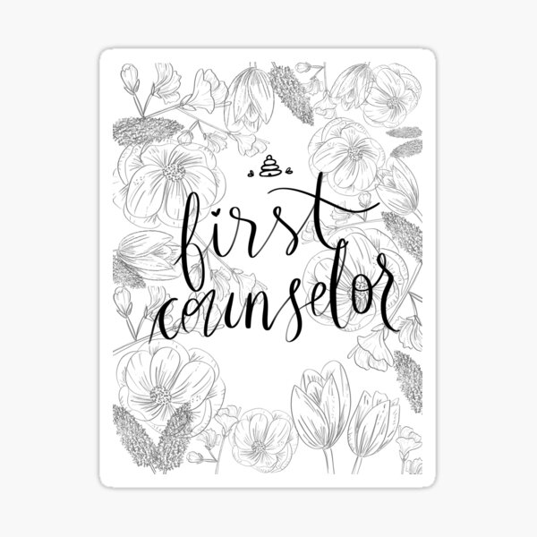 Beehive First Counselor Sticker