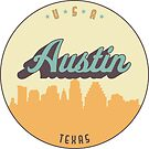 «sello vintage - austin» de arielledesigns