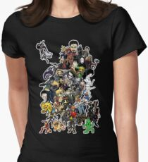 Doodle Womens Fitted T-Shirt