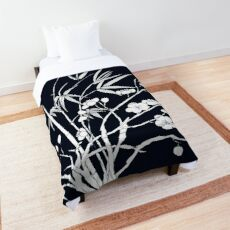 bamboo and plum flower Comforter