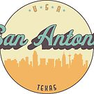 «sello vintage - san antonio» de arielledesigns