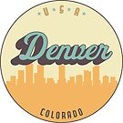 «sello vintage - denver» de arielledesigns