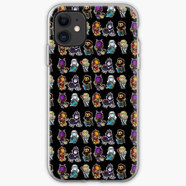 Vile villains iPhone Soft Case