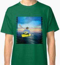 Kayak Man Classic T-Shirt