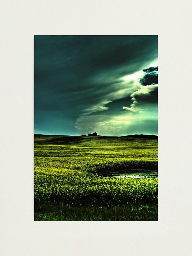 Alternate view of Passing Through Photographic Print