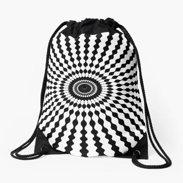 #design, #illustration, #pattern, #abstract, decoration, art, vector, element Drawstring Bag