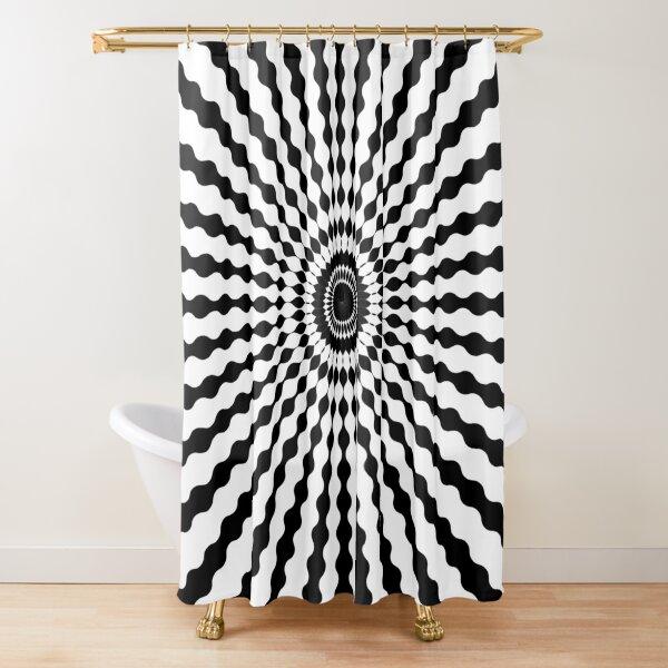 #design, #illustration, #pattern, #abstract, decoration, art, vector, element Shower Curtain