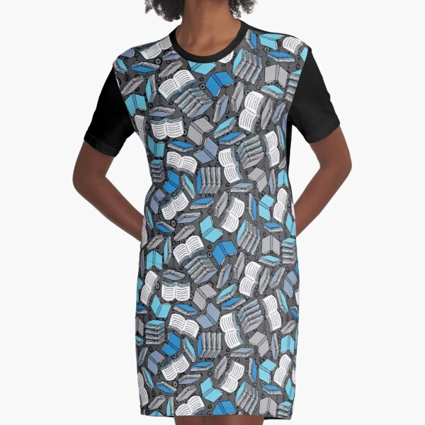 So Many Books... Graphic T-Shirt Dress