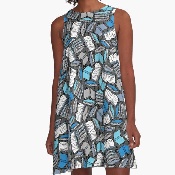 So Many Books... A-Line Dress