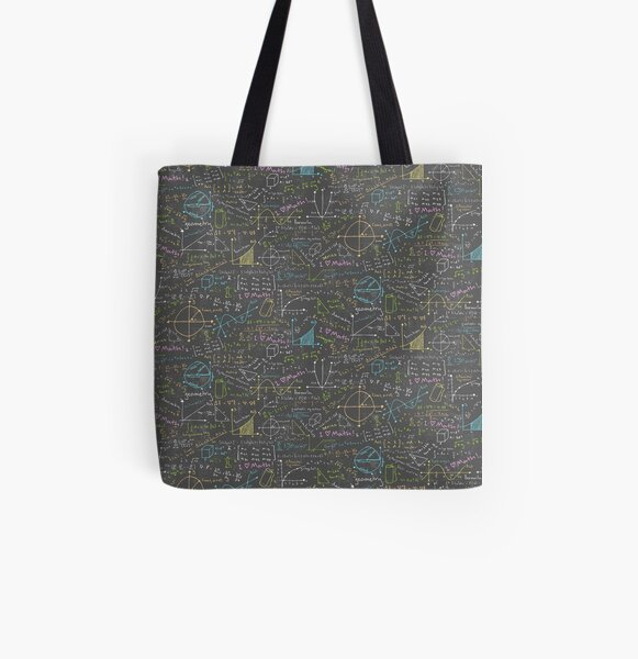 Math Lessons All Over Print Tote Bag