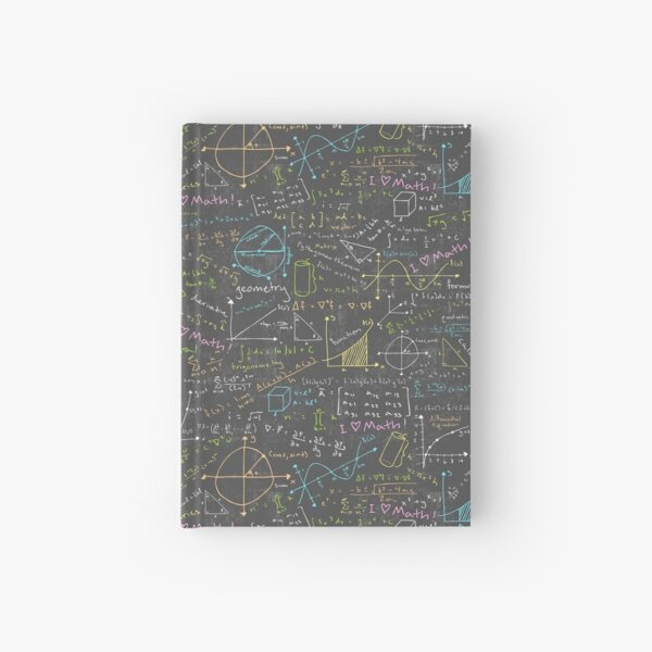 Math Lessons Hardcover Journal
