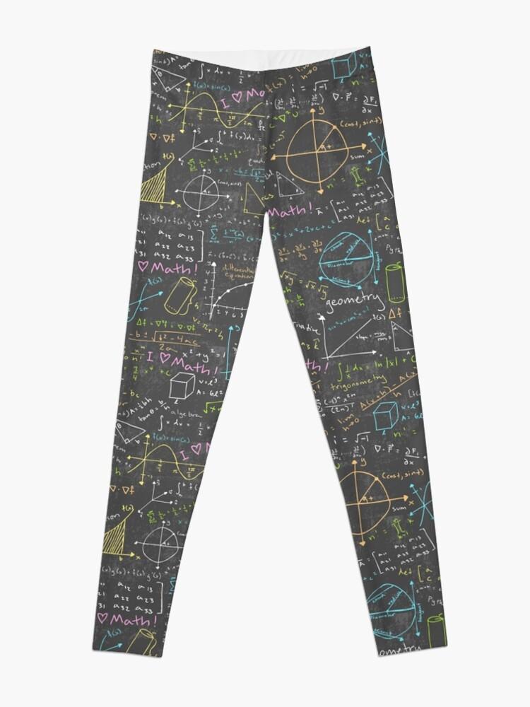 Alternate view of Math Lessons Leggings