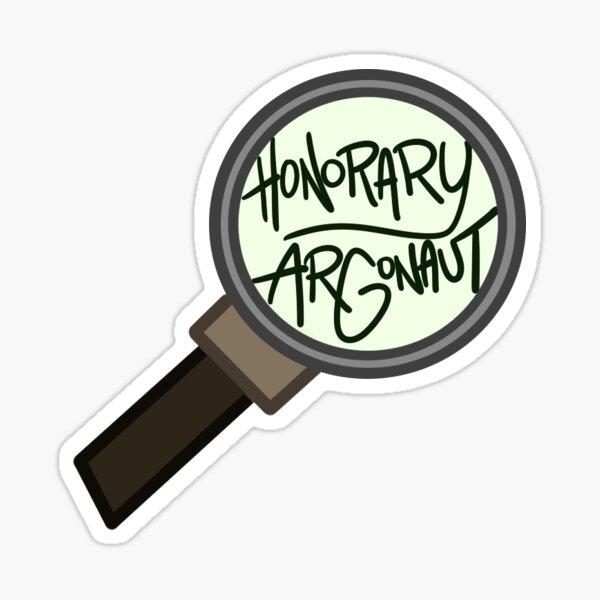 Honorary ARGonaut Sticker (Original) Sticker
