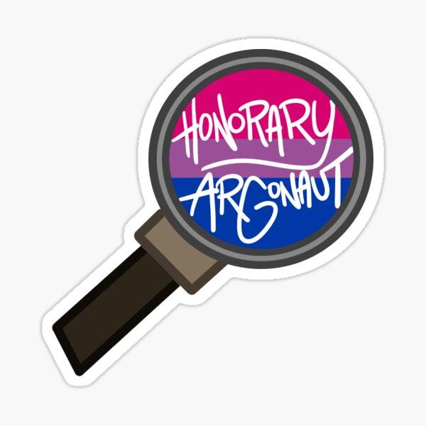 Honorary ARGonaut Sticker (Bisexual) Sticker