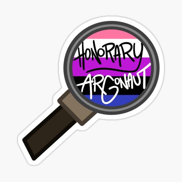 Honorary ARGonaut Sticker (Genderfluid) Sticker
