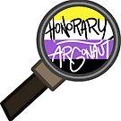 Honorary ARGonaut Sticker (Nonbinary) by ARGonauts Podcast