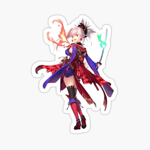 miyamoto musashi Sticker