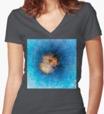 Dendrification 10 Fitted V-Neck T-Shirt