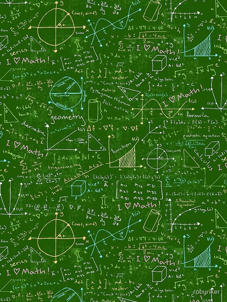 Lecciones de Matemáticas de robyriker