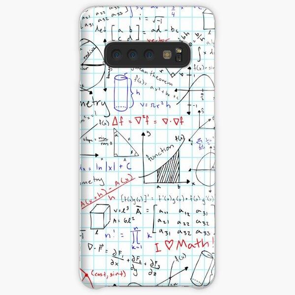 Math Homework Samsung Galaxy Snap Case