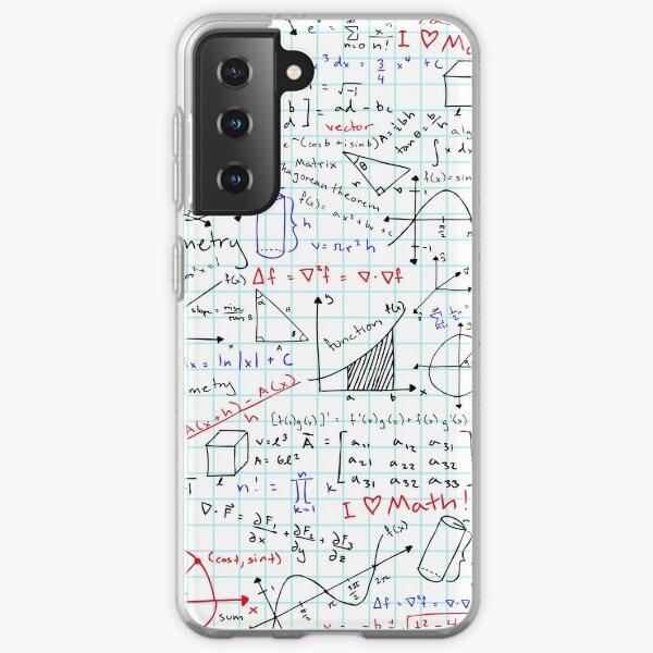 Math Homework Samsung Galaxy Soft Case
