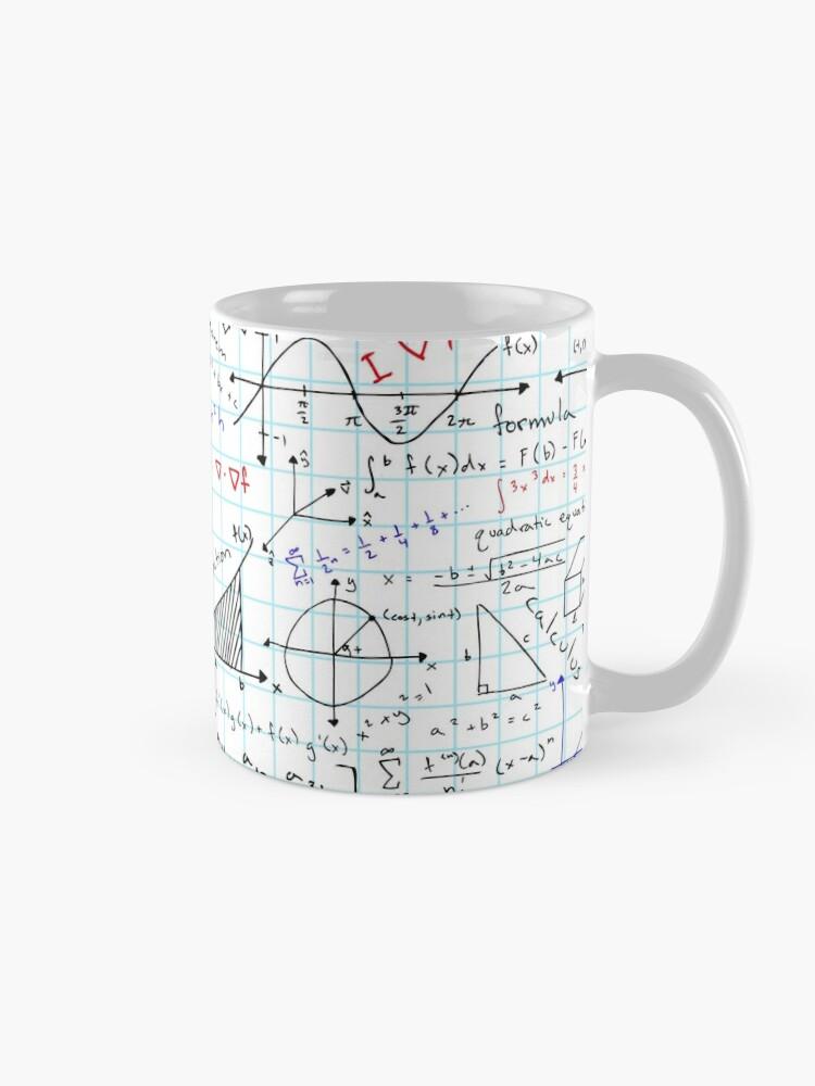 Alternate view of Math Homework Mug