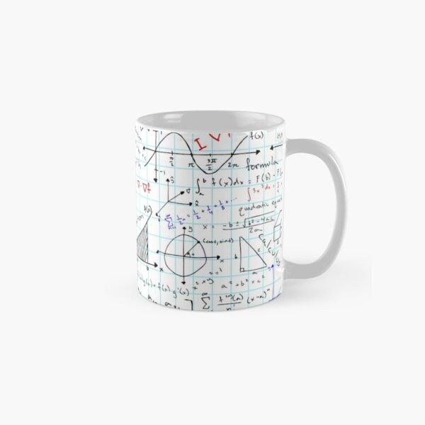 Math Homework Classic Mug