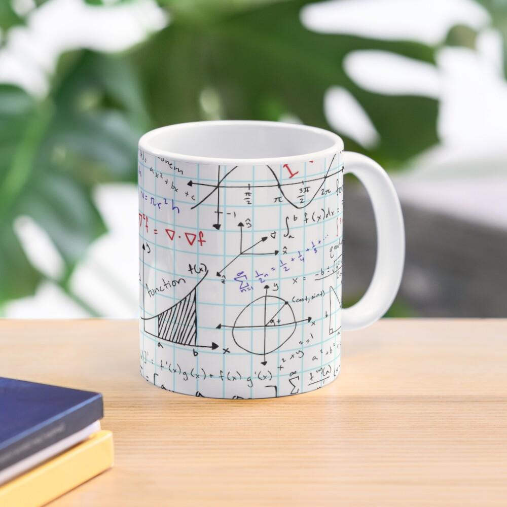 Math Homework Mug