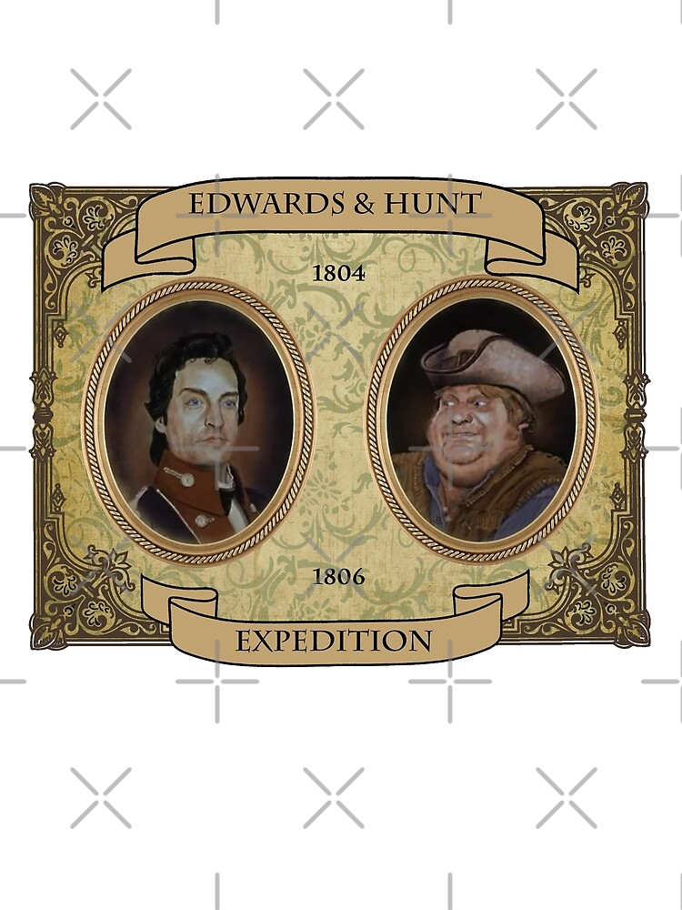 Almost Heroes - Edwards and Hunt Expedition by red-leaf