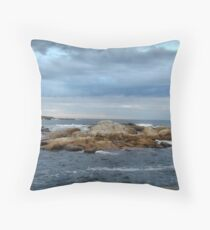 On the Brink Throw Pillow