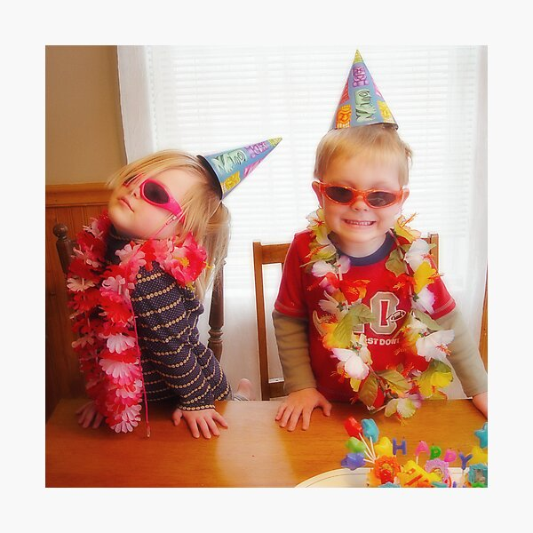 Birthday Divas Photographic Print