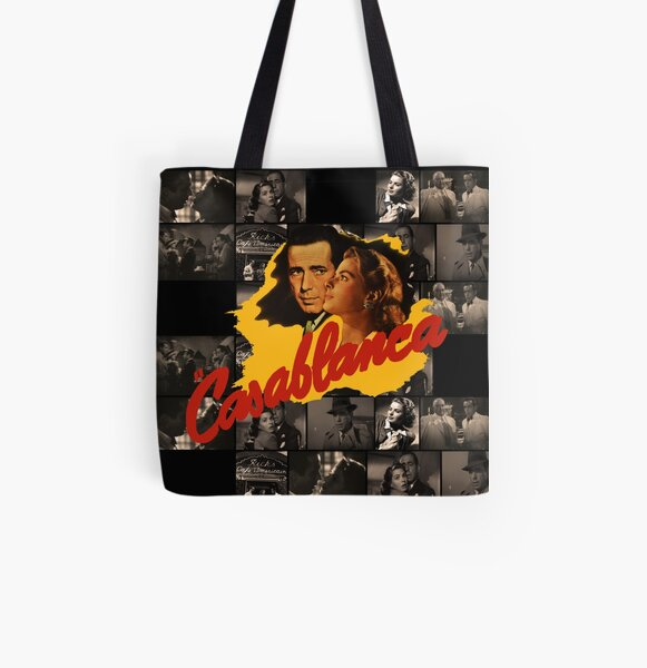 Casablanca  All Over Print Tote Bag