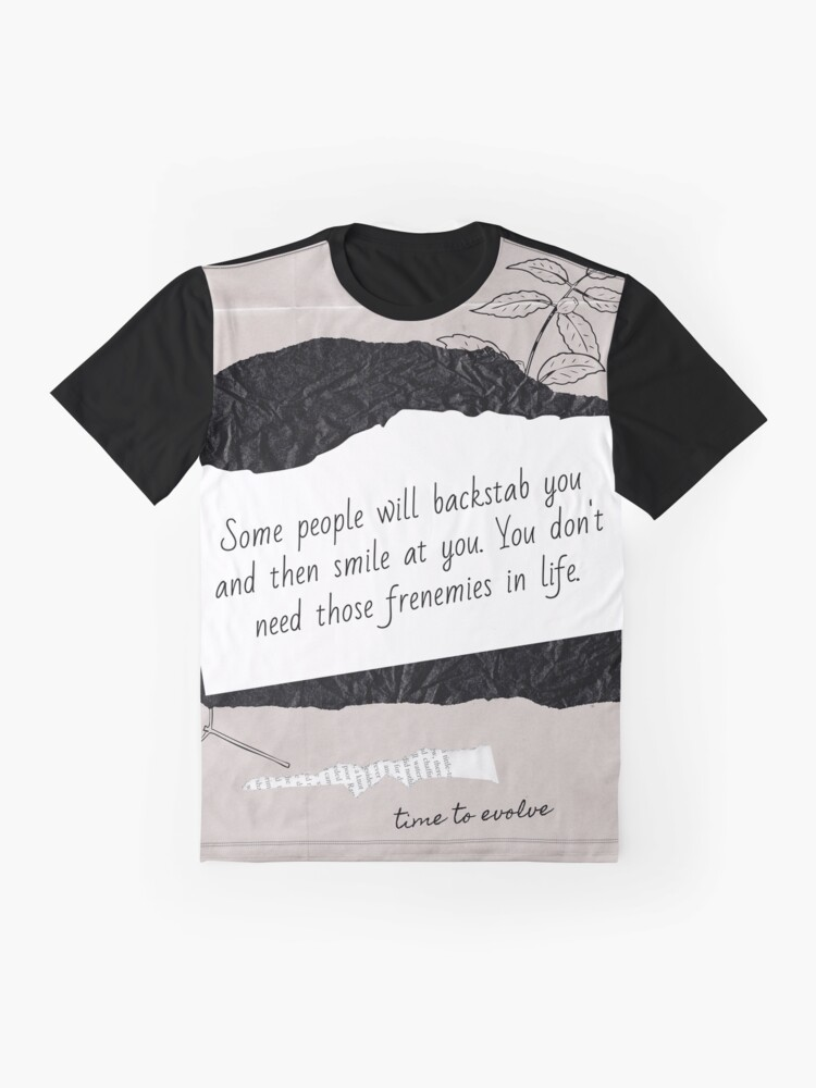 Alternate view of Frenemy | Lesson Learned Graphic T-Shirt