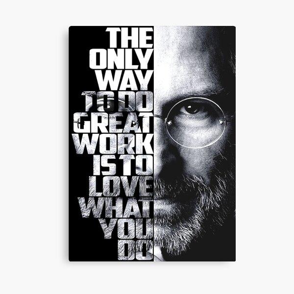 Steve Jobs Quote Canvas Print