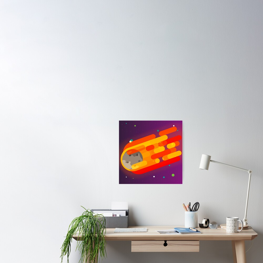 Radiant Asteroid Poster