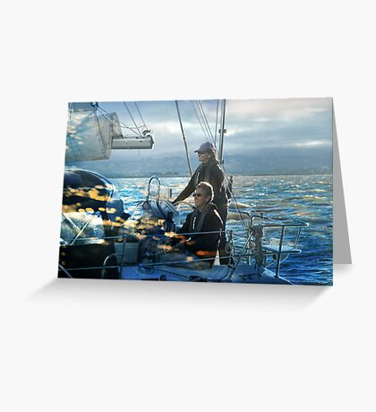 Happy Sailing my Friends! Greeting Card