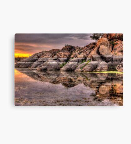 Mirror Rock Canvas Print