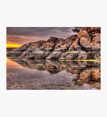 Mirror Rock Photographic Print