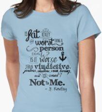 Is Fat the Worst We Can Be? T-Shirt