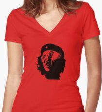 Che You Guys!!! Women's Fitted V-Neck T-Shirt