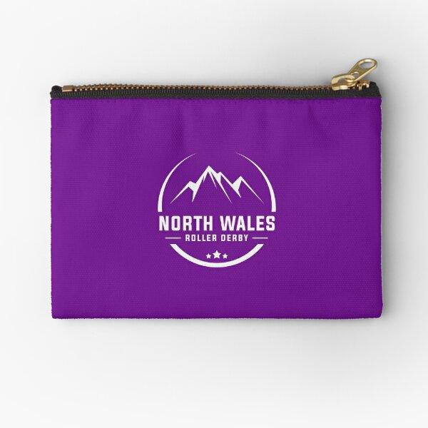 NWRD League Logo - white Zipper Pouch