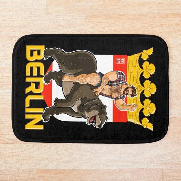 ADAM LIKES BERLIN BEAR Bath Mat